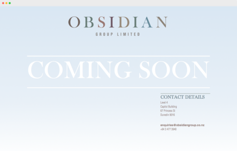 Obsidian Group Limited - Finance Company
